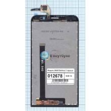 Модуль (матрица + тачскрин) ASUS Zenfone 2 ze551ml черный