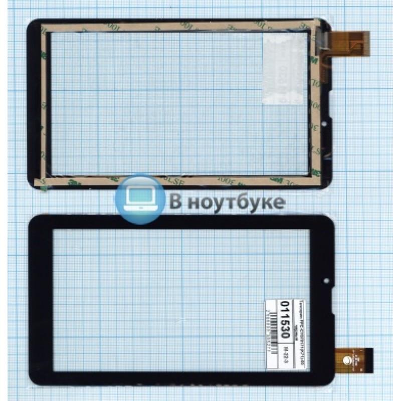 Сенсорное стекло (тачскрин) FPC-CY070171(K71)-00 черный