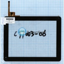 Сенсорное стекло (тачскрин) QSD E-C97003-06 черный