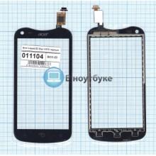 Сенсорное стекло (тачскрин) Acer Liquid E2 Duo V370 черный