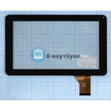 Сенсорное стекло (тачскрин) DH-0902A1-FPC03-02 черный