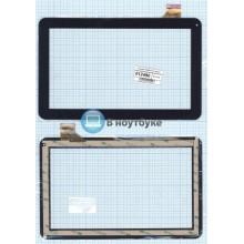 Сенсорное стекло (тачскрин) WJ608-V1.0 (V2.0) черный