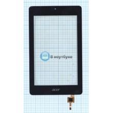 Сенсорное стекло (тачскрин) Acer Iconia One 7 B1-730 черное