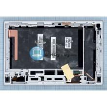 Модуль (матрица + тачскрин) Sony Xperia Tablet Z с белой рамкой