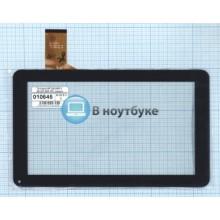 Сенсорное стекло (тачскрин) MF-289-090F-3 MF-587-090F FPC черный