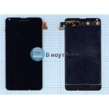 Модуль (матрица + тачскрин) Microsoft Lumia 640 Dual Sim черный