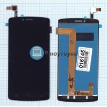 Модуль (матрица + тачскрин) Prestigio MultiPhone 5550 DUO черный