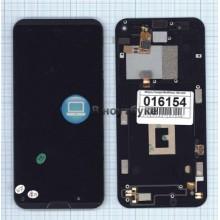Модуль (матрица + тачскрин) Prestigio MultiPhone PAP7505 DUO черный с рамкой