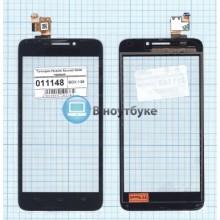 Сенсорное стекло (тачскрин) Huawei Ascend G630 черный