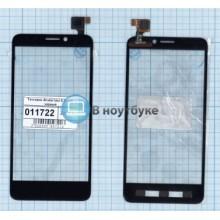 Сенсорное стекло (тачскрин) Alcatel One Touch Idol S 6035R черный