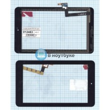 Сенсорное стекло (тачскрин) Alcatell OneTouch Pop 7 P310 3G черный