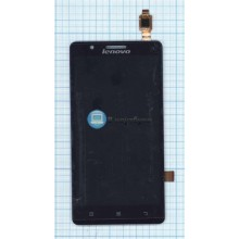 Модуль (матрица + тачскрин) Lenovo A536 черный