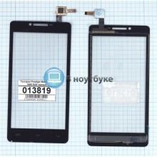 Сенсорное стекло (тачскрин) Prestigio MultiPhone 5500 DUO черный