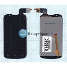 Модуль (матрица + тачскрин) Highscreen Boost черный