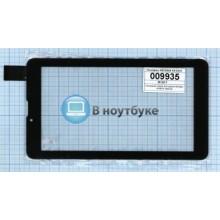 Сенсорное стекло (тачскрин) HS1283A V0 0212 черный
