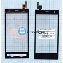 Сенсорное стекло (тачскрин) Highscreen Zera S черный