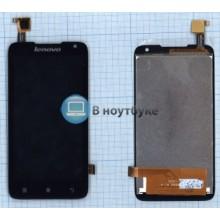 Модуль (матрица + тачскрин) Lenovo A526 черный