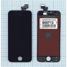 Модуль (матрица + тачскрин) Apple iPhone 5/5g AAA черный